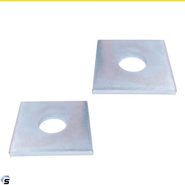 Vierkantscheiben für Holzkonstruktionen Stahl verzinkt DIN 436