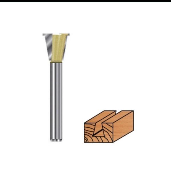 Grat- Zinkenfräser Hartmetall mit Vorritzer für Oberfräsen