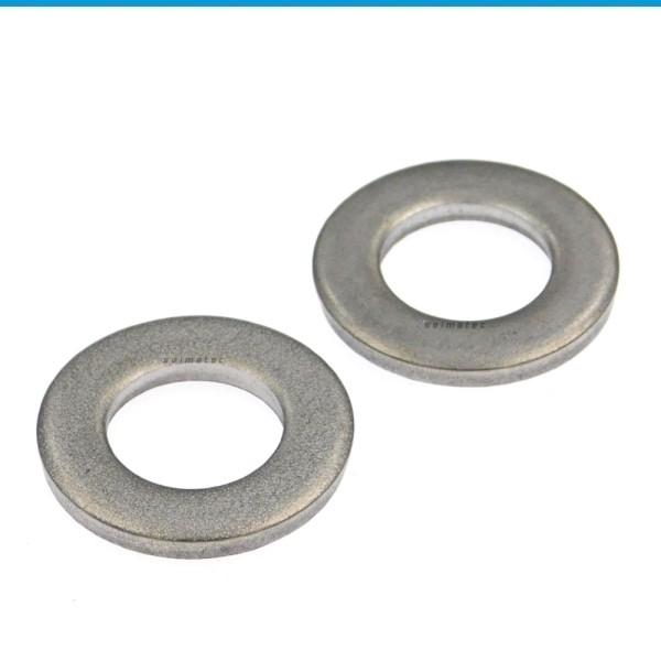 Scheiben für Bolzen - grobe Ausführung Edelstahl A2 DIN 1441