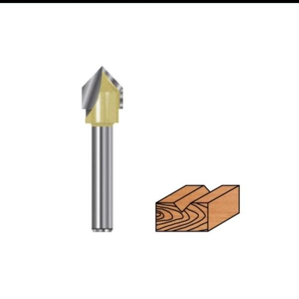 V-Nutfräser Hartmetall für Oberfräsen