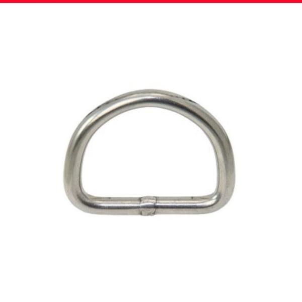 D-Ringe aus Edelstahl 1.4401 Industriefinish