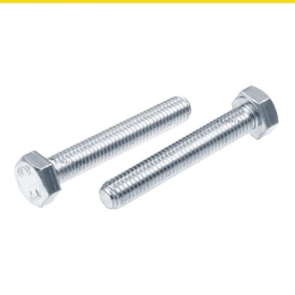 Sechskantschrauben Vollgewinde DIN 933 8.8 Stahl verzinkt