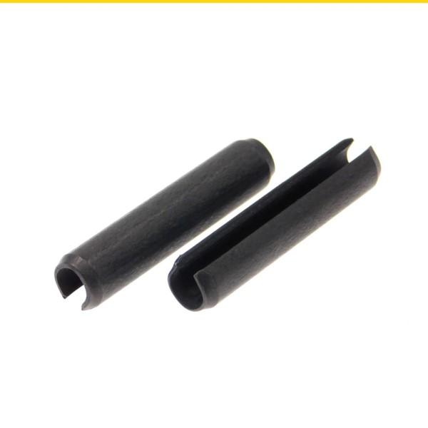 Spannstifte geschlitzt ISO 8752 Federstahl schwere Ausführung