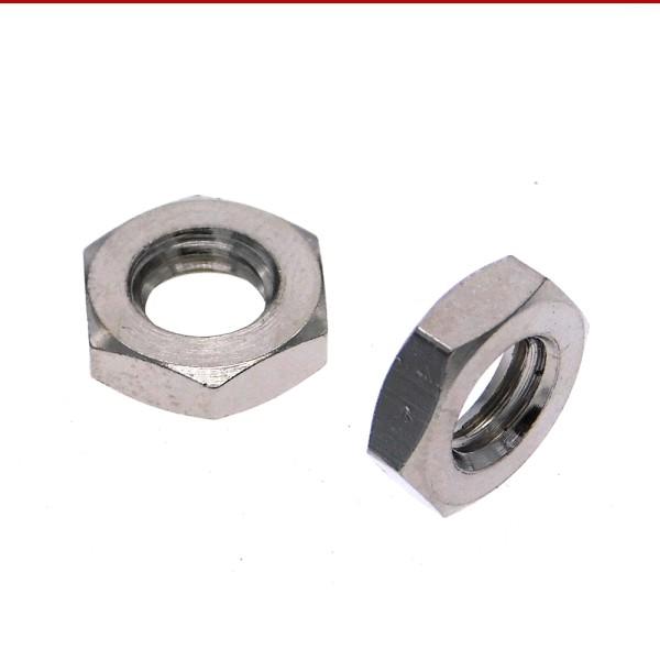 VPE DIN 439 Sechskantmuttern flach Stahl  verzinkt
