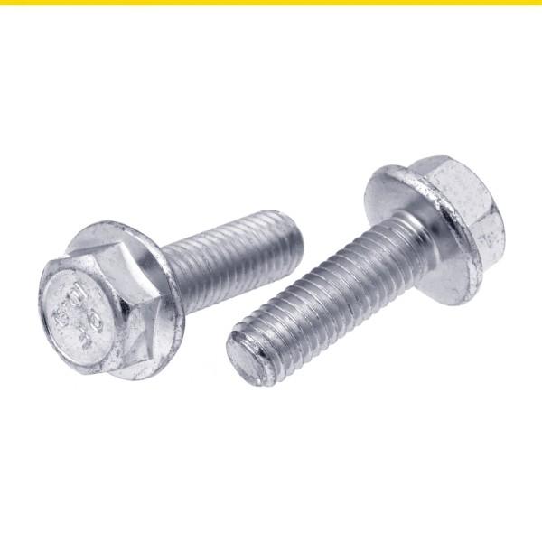 Sechskantschrauben mit Bund Stahl 10.9 verzinkt DIN 6921