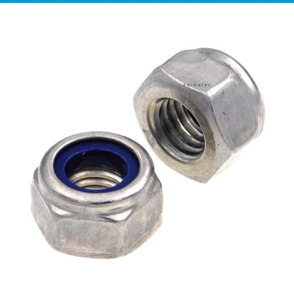 Sicherungsmuttern Stopmuttern hohe Form DIN 982 - Edelstahl A2