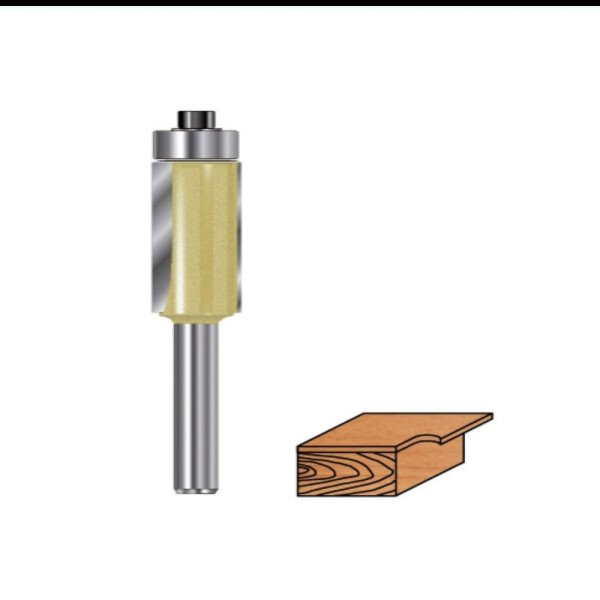 Kantenfräser Hartmetall mit Kugellager für Oberfräsen