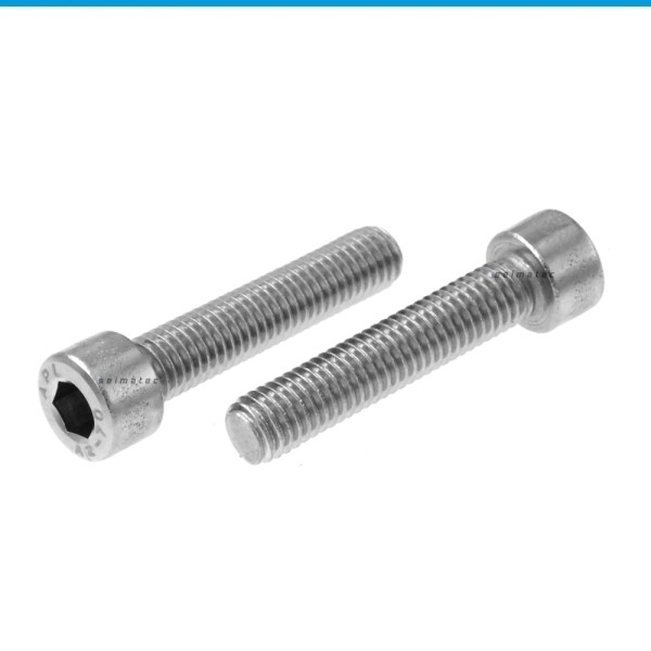 Zylinderschrauben mit Vollgewinde Edelstahl A2 DIN 912