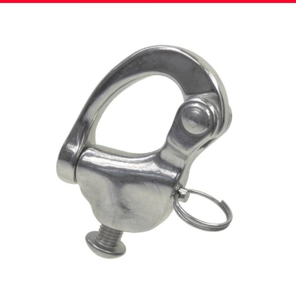 Schnappschäkel mit Schraube Edelstahl A4 AISI 316