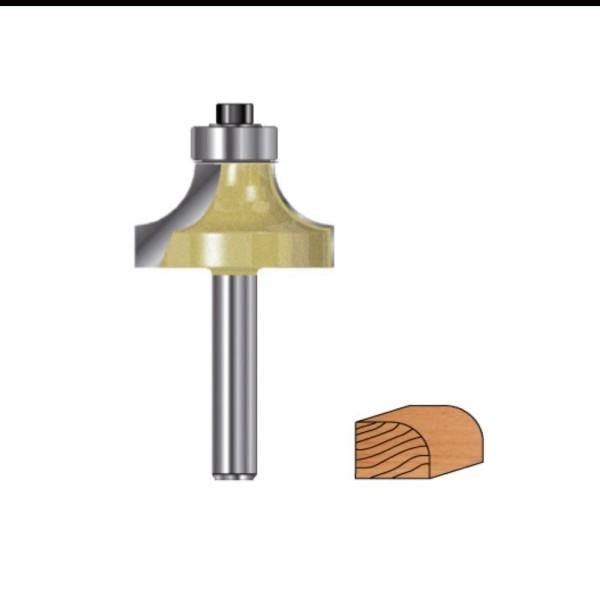 Abrundfräser Hartmetall mit Kugellager für Oberfräsen