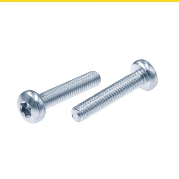 ISO 14583 Linsenkopfschrauben Stahl verzinkt mit Innensechsrund TX