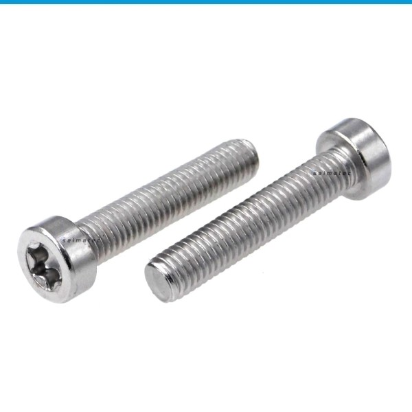 Zylinderschrauben mit Innensechsrund (TX) niedriger Kopf Edelstahl A2 ISO 14580