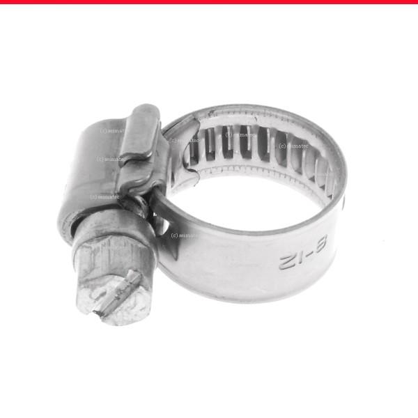 Schlauchschellen mit Schneckenantrieb Form A Edelstahl A4 DIN 3017