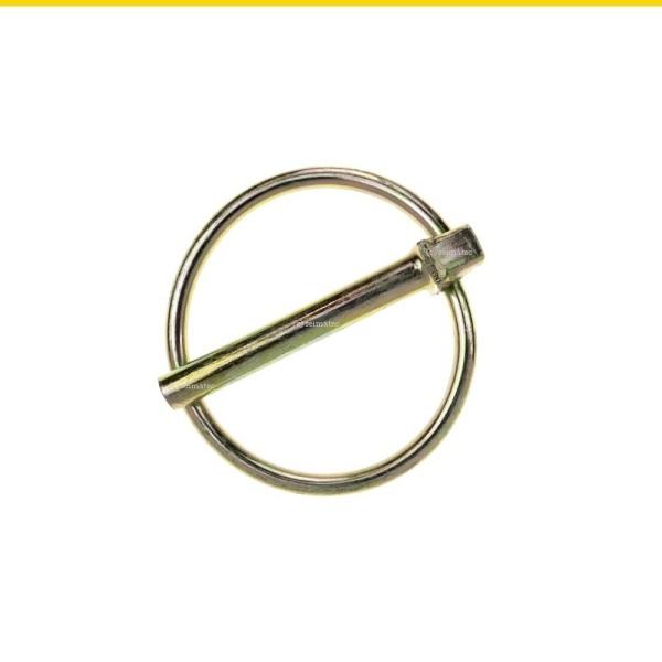 Klappstecker D 11023 Stahl galvanisch verzinkt