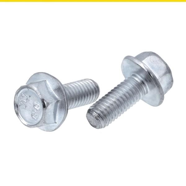 Sechskantschrauben mit Bund Stahl 8.8 verzinkt DIN 6921