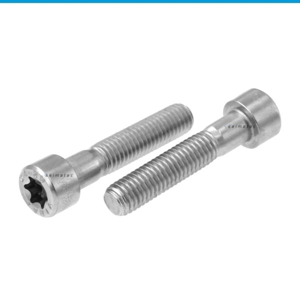 Zylinderschrauben mit Innensechsrund (TX) Edelstahl A2 ISO 14579