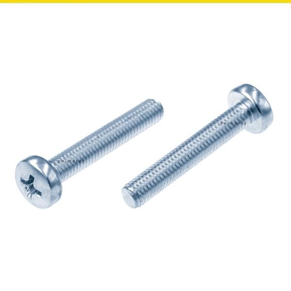 DIN 7985 Linsenkopf Kreuzschlitzschrauben Stahl verzinkt