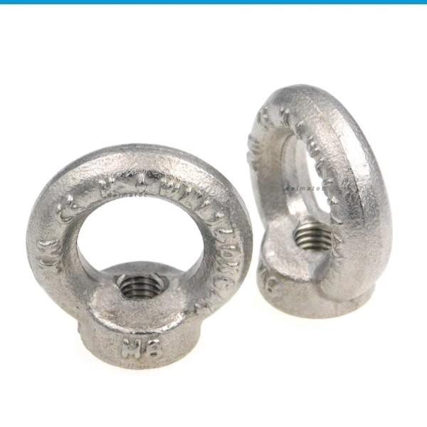 Ringmuttern Ösenmuttern Edelstahl A2 DIN 582