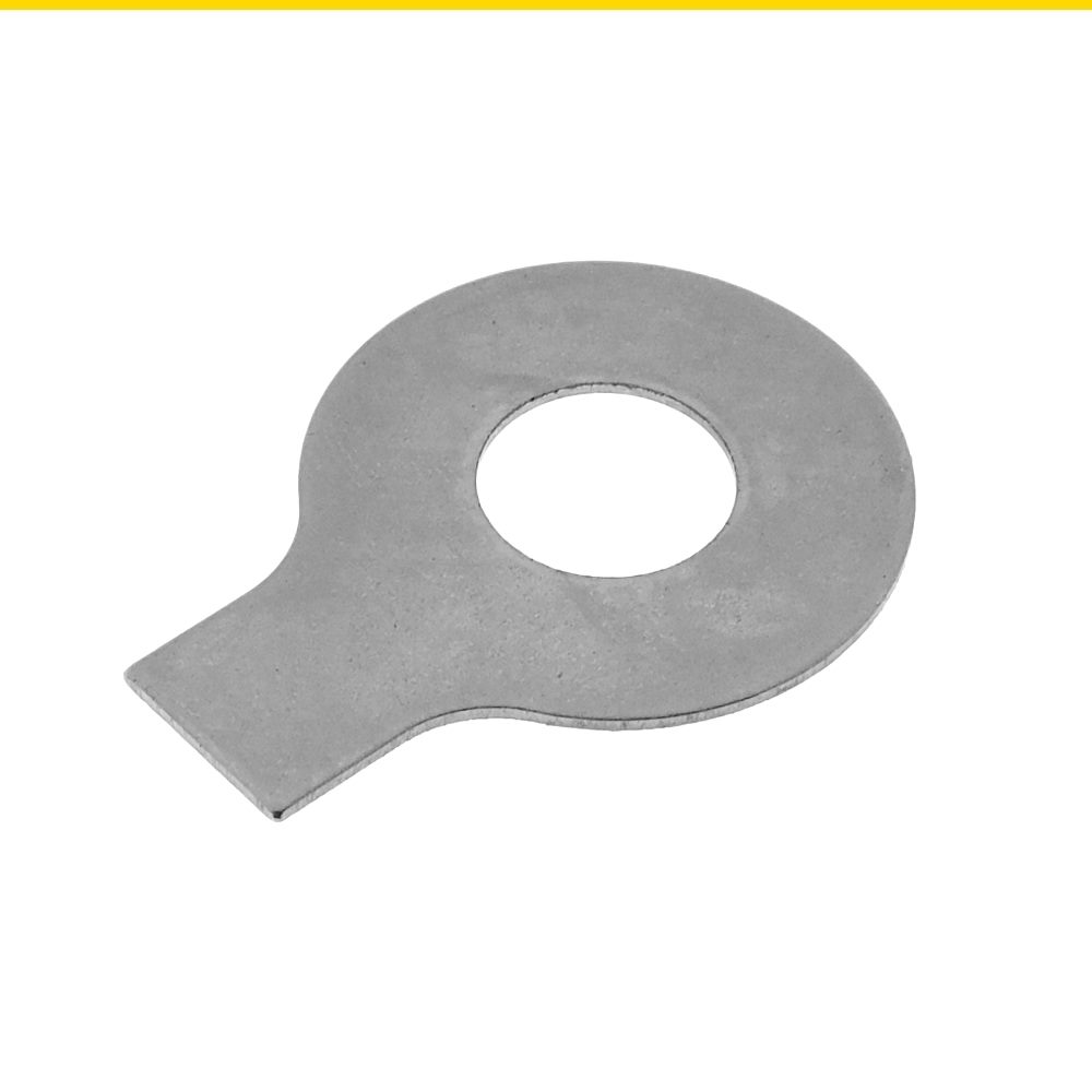 DIN 93 Stahl galvanisch verzinkt Sicherungsbleche Scheiben mit Lappen