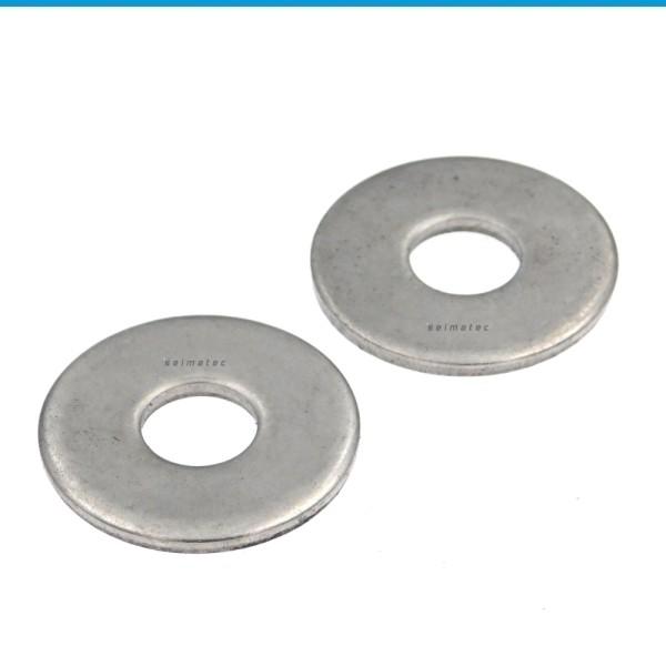 Flache Scheiben große Ausführung Edelstahl A2 ISO 7093-1 200 HV
